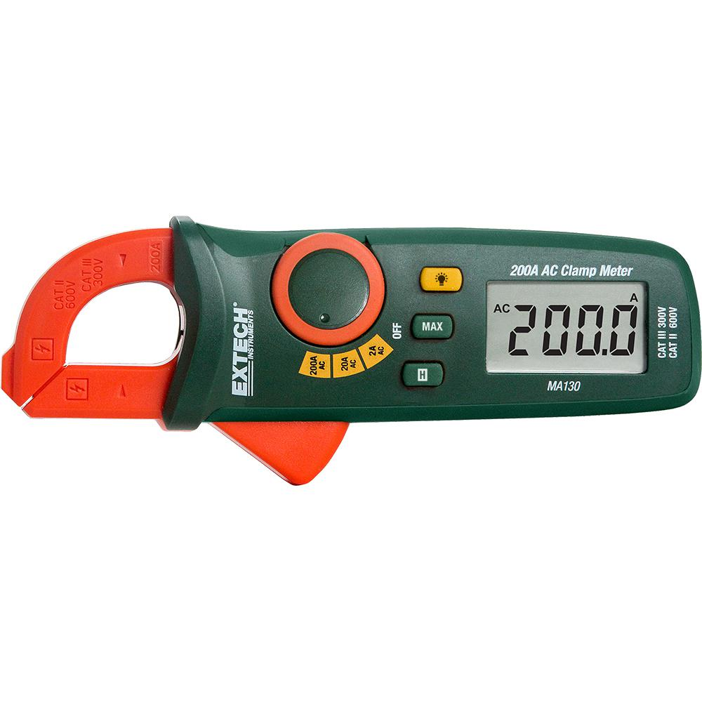 Mini 200 Amp AC Clamp Meter